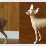 Крошечный bjd-тойтерьер, напечатанный по технологии 3D-печати