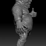 3D модель фигурки старины Хенка для 3D печати