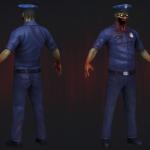 Зомби полицейский