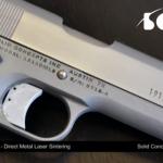Первый в мире металлический пистолет, созданный при помощи 3D-печати