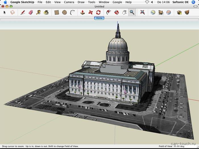 3D моделирование, бесплатные программы, sketchup