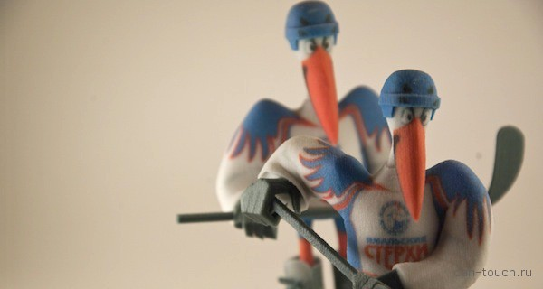 Быстрое прототипирование: создаем прототип талисмана хоккейной команды при помощи 3D-печати