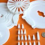 Быстрое прототипирование при помощи 3D-печати: детали прототипа магнитного холодильника