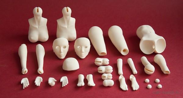 Занимательный досуг: 3D-моделирование bjd-кукол и их 3D-печать