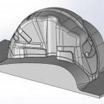 3d моделирование автомобильный подкрылок