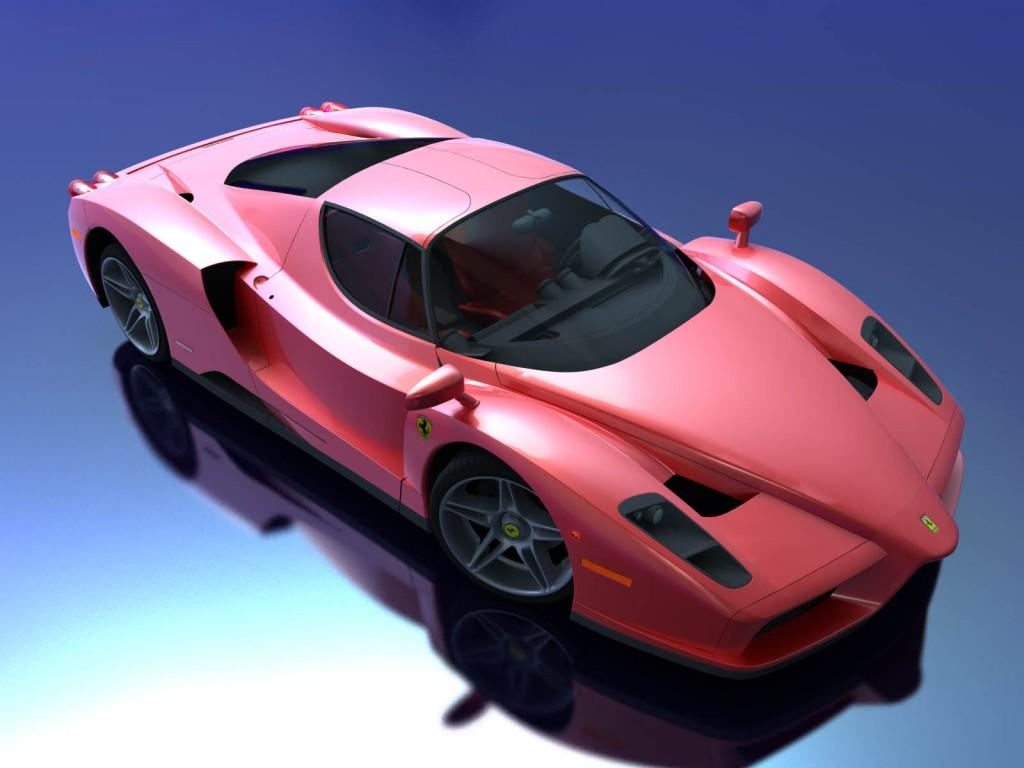 3d моделирование Ferrari Enzo
