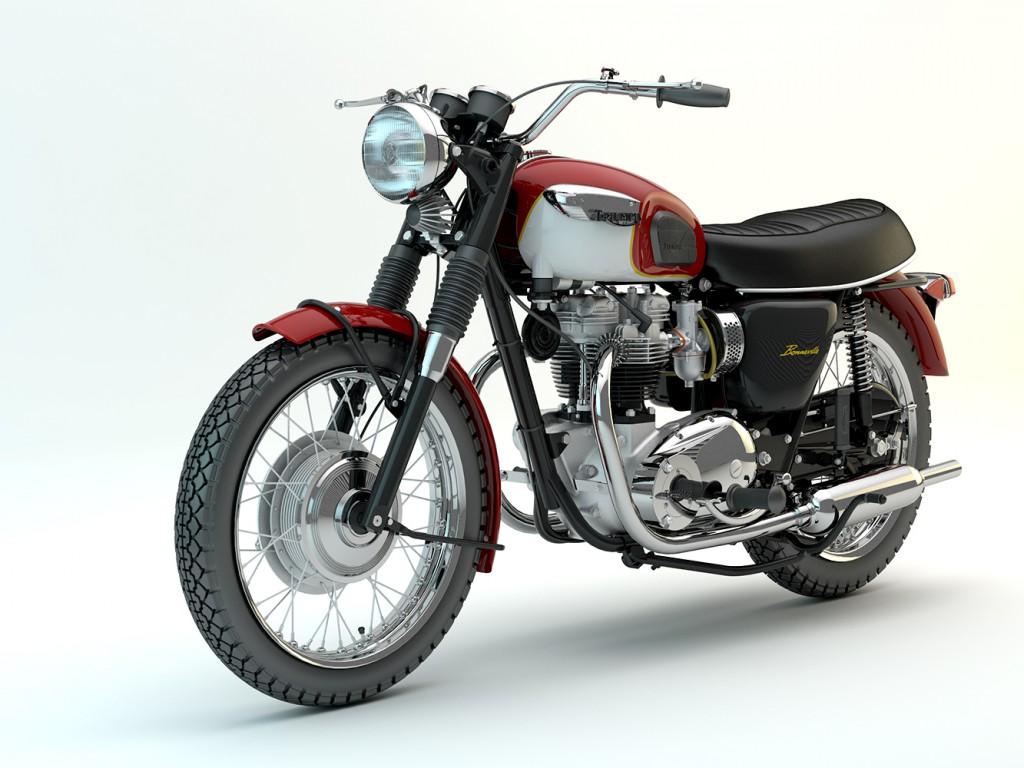 3d моделирование мотоцикла