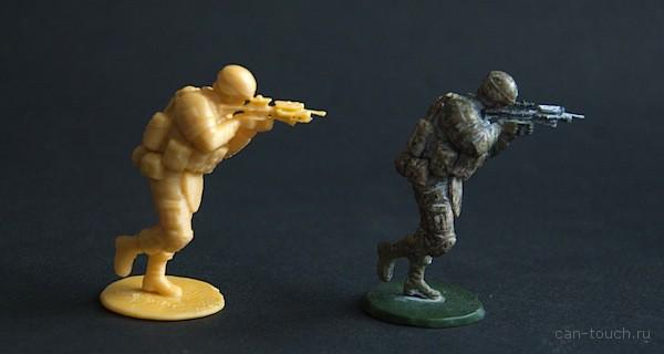 3D-печатные военные миниатюры, или спасение рядового солдатика