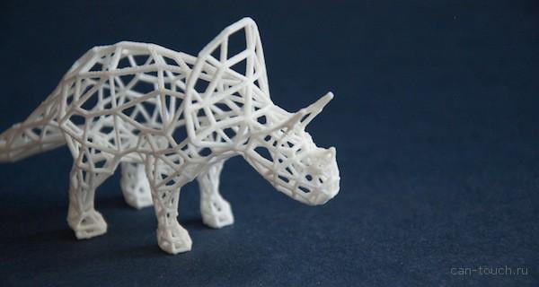 Милый 3D-печатный динозавр с завидным потенциалом