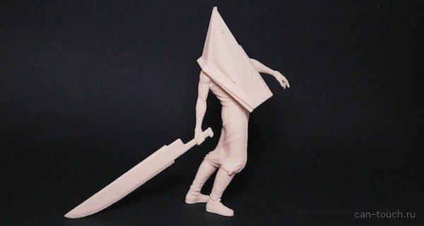 Применяем 3д-печать, чтобы отдать дань «Пирамидоголовому» из Silent Hill