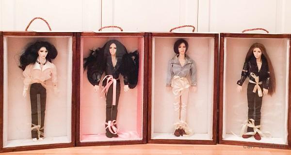 Авторские шарнирные куклы, созданные при помощи 3D-печати
