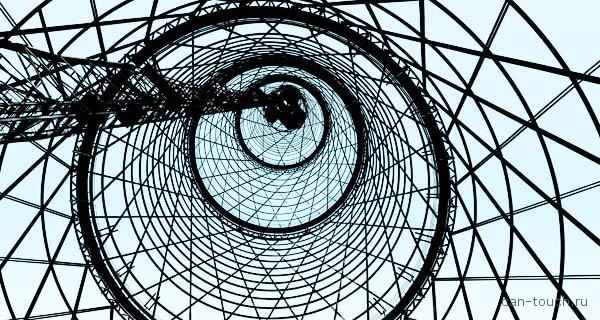 3D-сканирование Шуховской  башни на Шаболовке