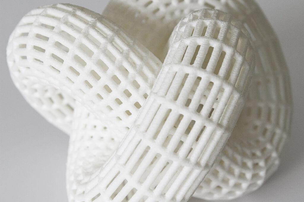 Белый прочный пластик PA-2200, 3D-печать, материалы