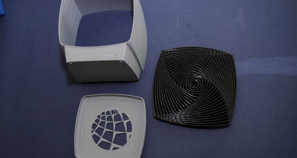 3D-печать пластиковой детали для макета обеззараживателя воздуха