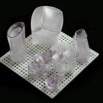 Accura 60 3D-печать SLA прозрачная